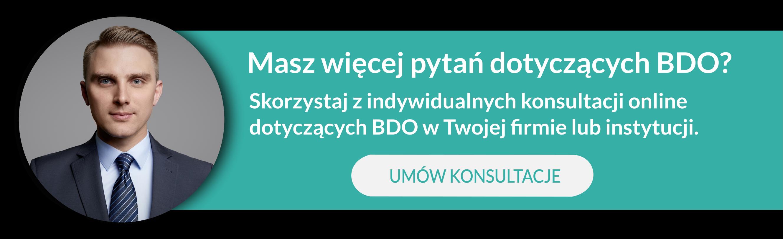 Mikołaj Maśliński BDO KONSULTACJE PRAWNE